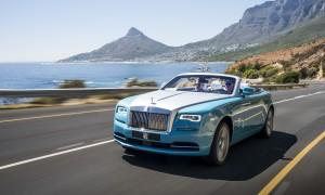 Rolls-Royce Dawn. Western Cape, South Africa.Photo: James Lipman