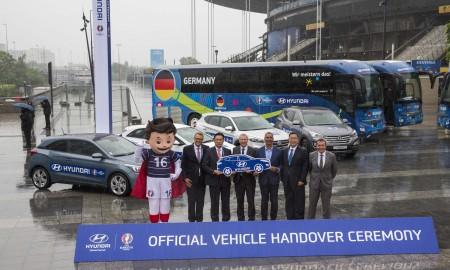 Hyundai & Kia UEFA EURO 2016™- Official Vehicle Handover Ceremony
