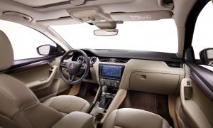 Škoda Octavia 2017 - interiér