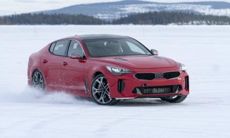 Kia Stinger Winter Testing_1a
