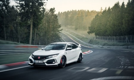 Honda Civic TypeR Nurburgring Time Attack