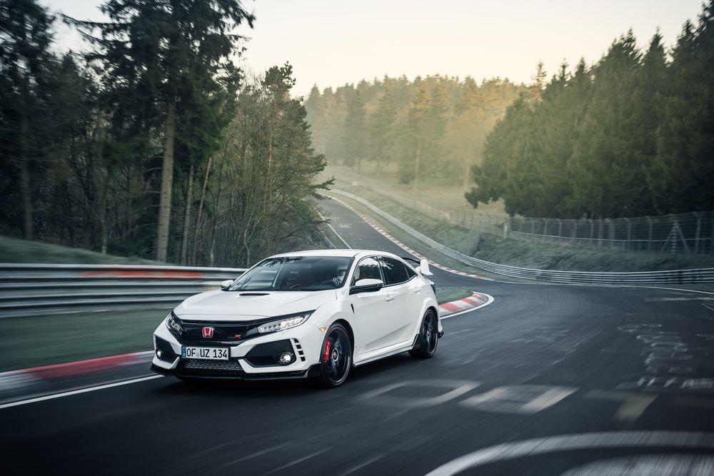 Honda Civic TypeR Nurburgring Time Attack