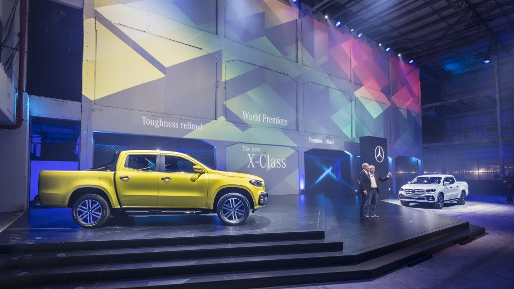 Weltpremiere neue Mercedes-Benz X-Klasse, Kapstadt, 2017