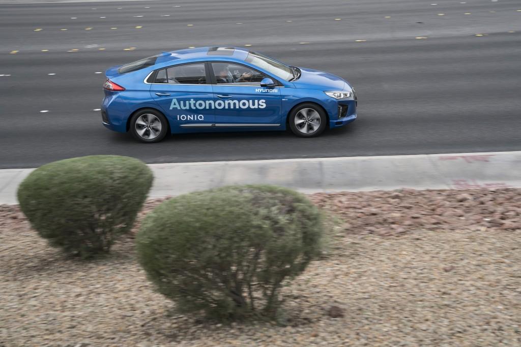 Autonomous IONIQ Concept