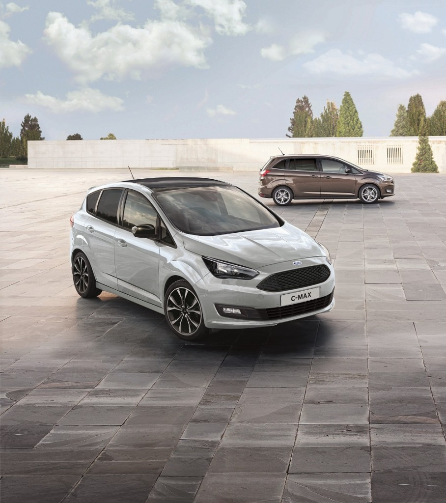 New Ford C-MAX Sport Boosts Family Car Appeal with Sporty Stylin
