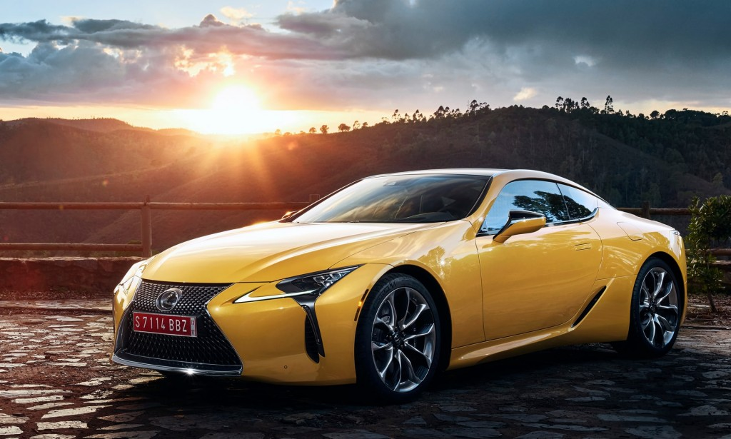 Lexus LC_Yellow Edition