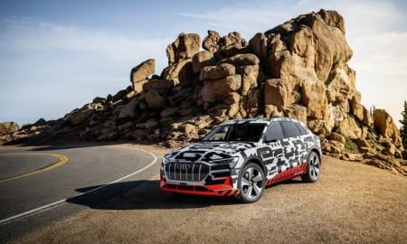 Prototyp Audi e-tron na Pikes Peak