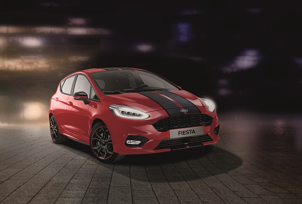 New Ford Fiesta ST-Line Red Edition and Black Edition Introduce