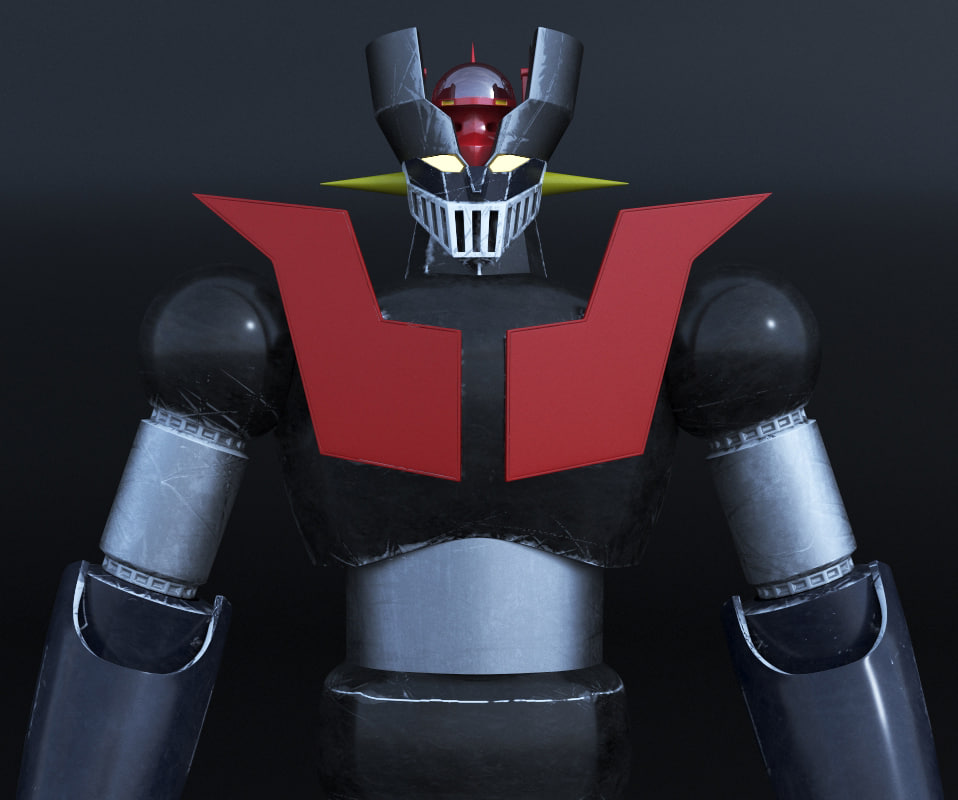 lexus ux - mazinger-robot-model_0