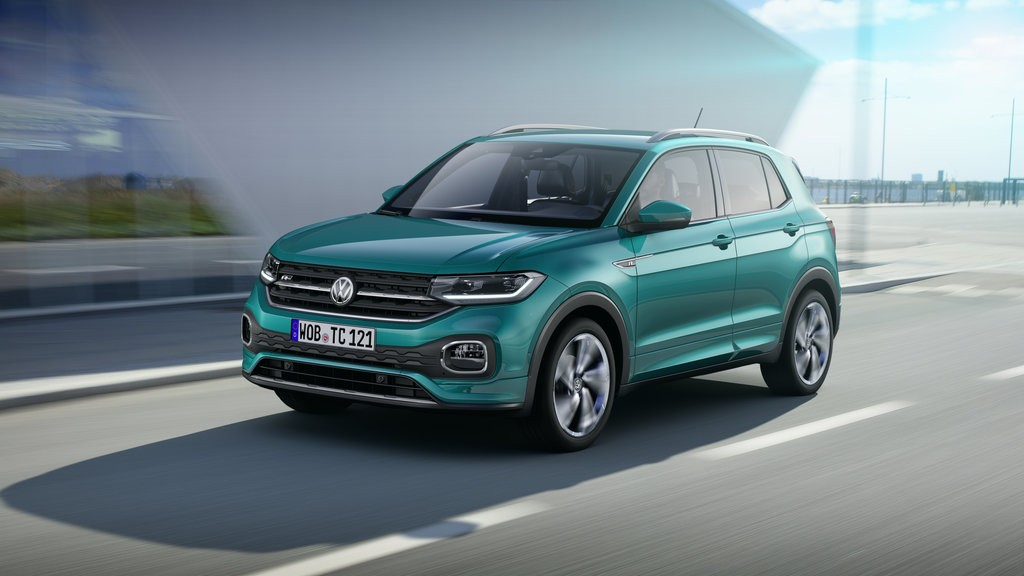 The all new Volkswagen T-Cross