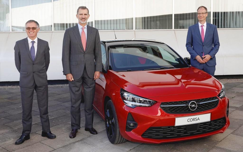 Opel Corsa Start of Production Tavares-Filip V-Lohscheller