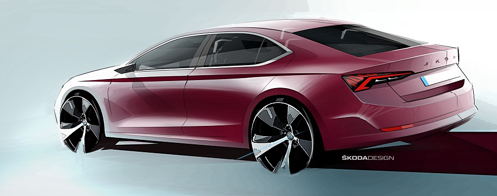 SKODA-presents-design-sketches-of-new-OCTAVIA-1