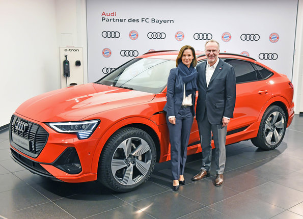 Audi and FC Bayern heading toward the future together