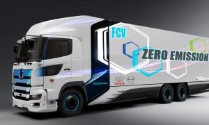 toyota nákladní vodík auto
