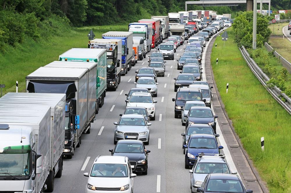 Autobahnstau 2014