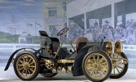 Mercedes-Simplex 40 PS aus dem Jahr 1902.