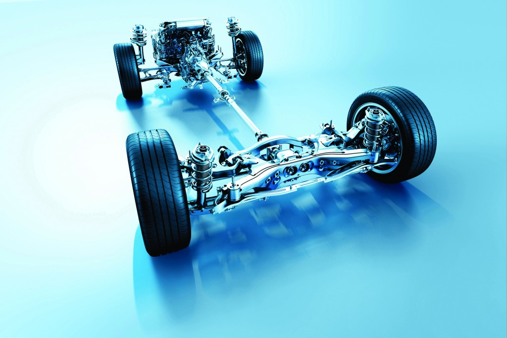 Subaru symetrický pohon