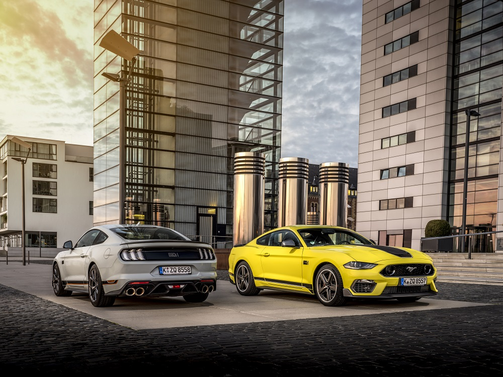 Ford today announced that the limited-edition, high-performance Mustang Mach 1 will be available to customers in Europe for the first time ever.