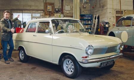 "Richard Hammond and his Opel Kadett A ""Oliver"""
