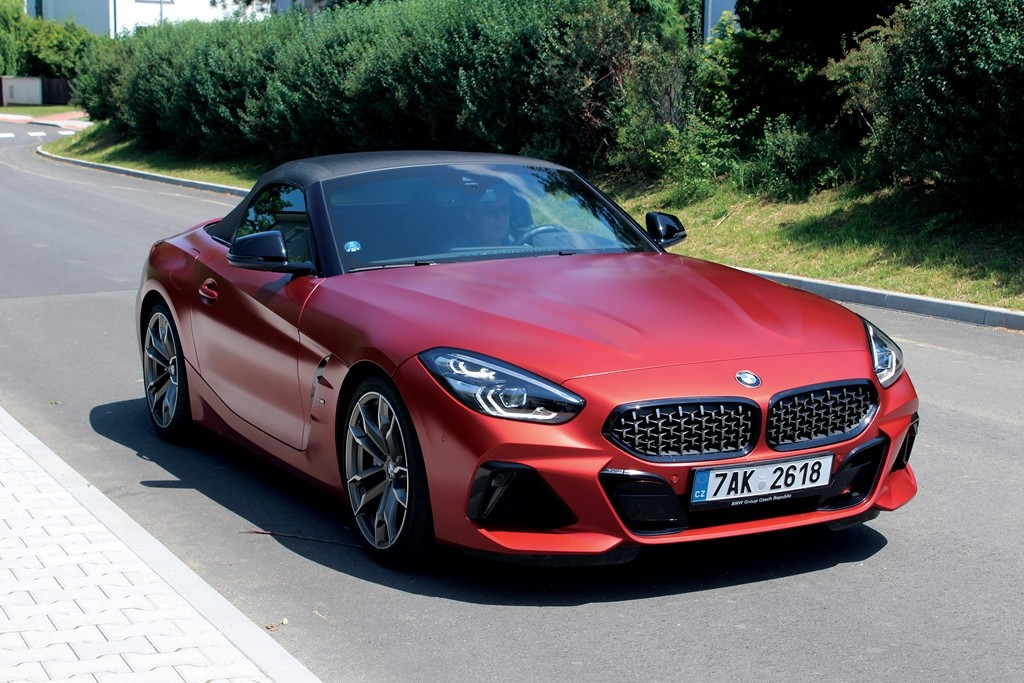 BMW Z4 velka