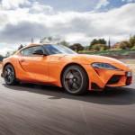 Toyota Supra k boxu GR -Supra 2019 orange