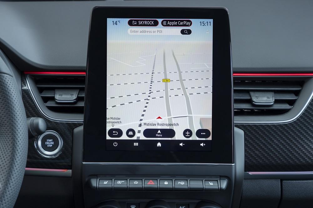 5-2021 - Essais Presse Renault ARKANA - Système Renault EASY LINK