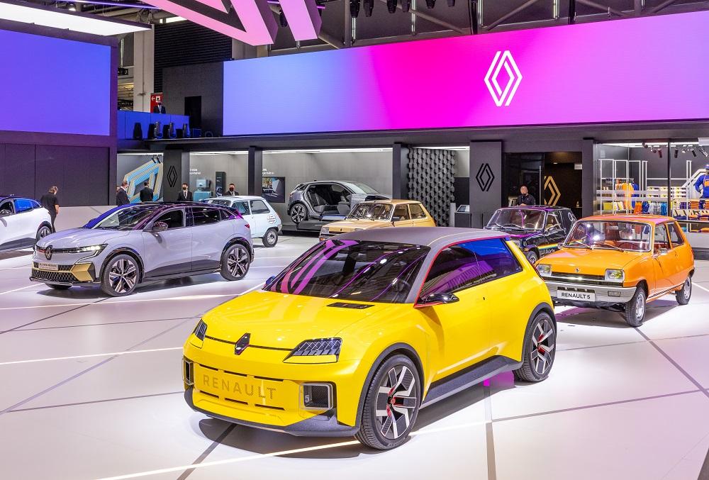 Salon IAA de Munich 2021 - Renault 5 Prototype et Renault 5